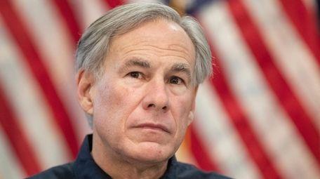 Texas Gov. Greg Abbott speaks about the dayslong