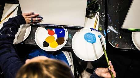 Paint a masterpiece at Pinot's Palette in Bay