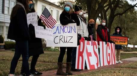 People angry over Sen. Ted Cruz's decision to