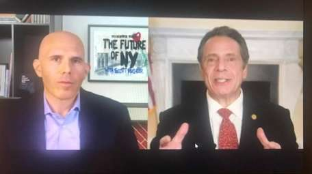 Gov. Andrew M. Cuomo, in a taped interview