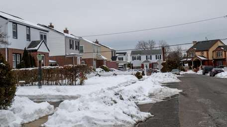 A stretch of homes along Norfeld Boulevard in