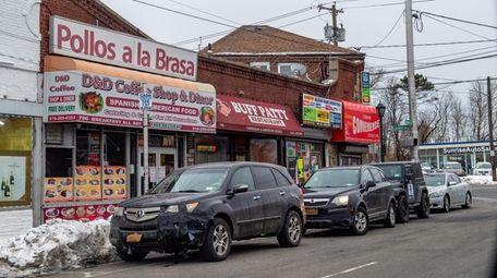Stores on Elmont Road in Elmont, which Nassau
