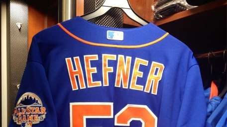 The Mets are debuting their blue jerseys at