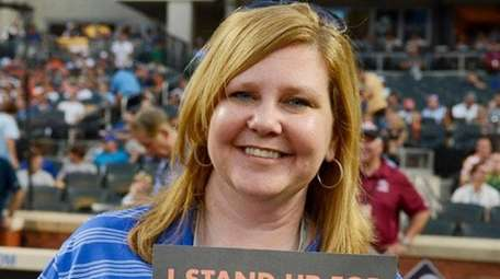 Mets publicist Shannon Forde