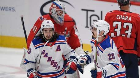 New York Rangers left wing Chris Kreider (20)