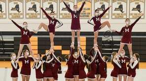 Mepham cheerleaders show off their hard work during