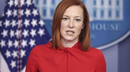 White House press secretary Jen Psaki has repeatedly