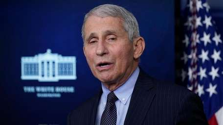 Dr. Anthony Fauci said Sunday the Biden administration