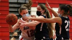 Half Hollow Hills East forward Jolie Boyle (12)