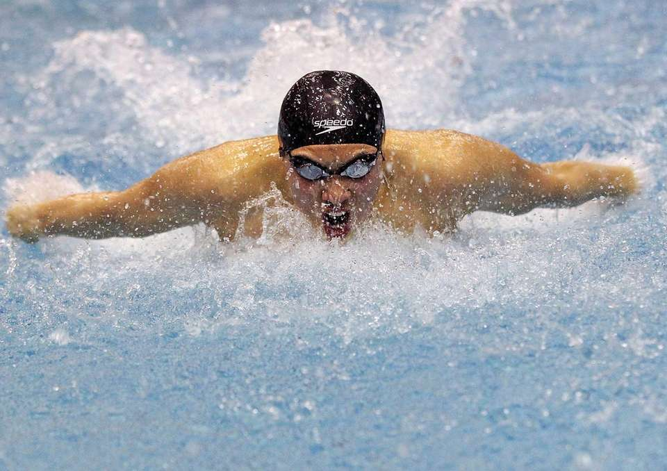 Boys Swimming All-Long Island Second Team: Daniel Mo,