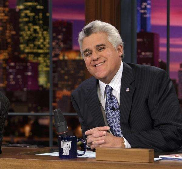 Jay Leno hosts