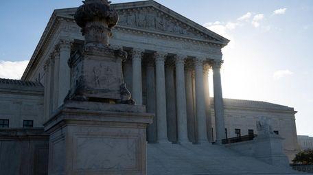 The U.S. Supreme Court on Monday denied former