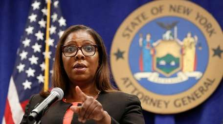 New York State Attorney General Letitia James has
