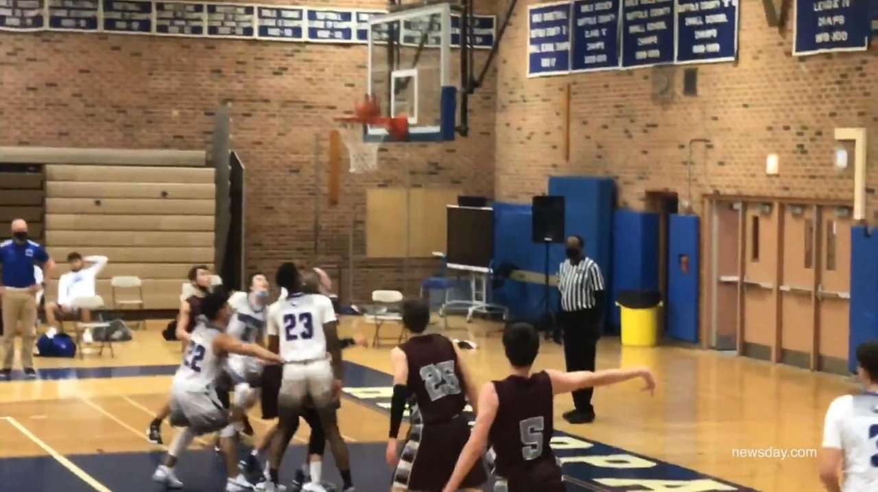 Highights from a Suffolk boys basketball matchup between