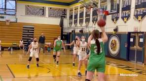 Highlights from a Nassau girls basketball matchup between