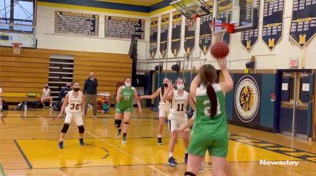 Highlights from a Nassau girls basketball matchup between