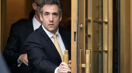 Former Trump personal lawyer Michael Cohen in August