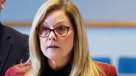 Huntington Town Board member Joan Cergol at a