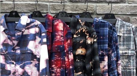 Lulu's of Bellport offers designer distressed fabric clothing.