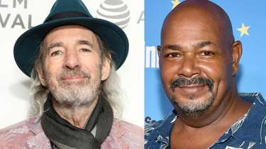 Harry Shearer, left, has voiced Dr. Hibbert for