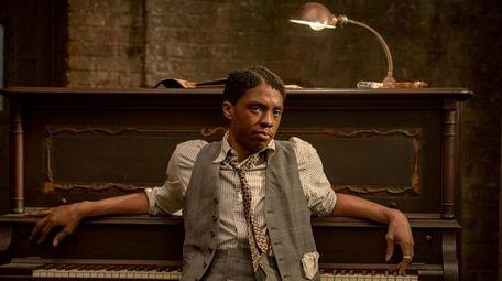"Chadwick Boseman as Levee in Netflix's ""Ma Rainey's"