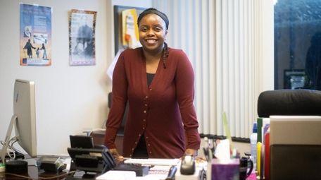 Union leader and teacher Cordelia Anthony.