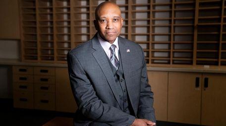 Suffolk County Sheriff Errol D. Toulon Jr. poses