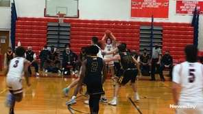 St. John the Baptist defeated St. Anthony's, 45-36,