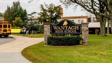 Wantagh High School is seen in September. It