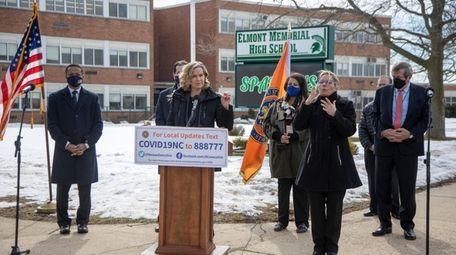 Nassau County Executive Laura Curran said Wednesday the