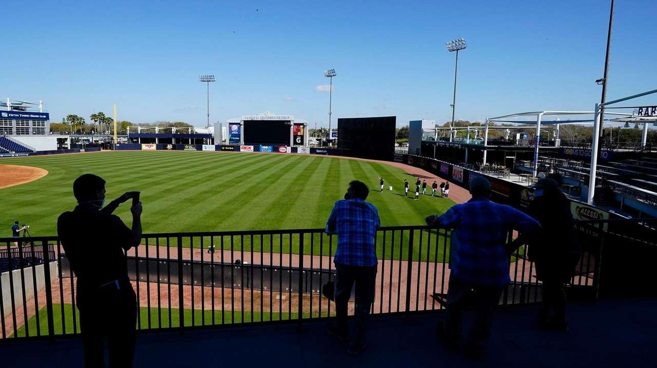 A handful of Yankees pitchers threw simulated games
