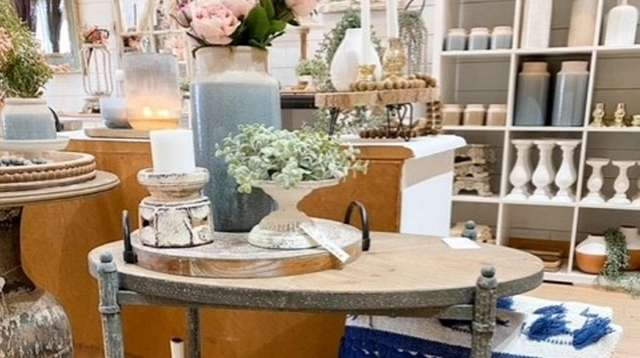 Urban Farmhouse in Bellmore doesn't focus on matchy