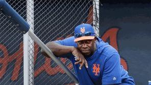 Mets hitting coachChili Davis returned to the Mets