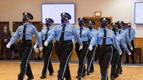 The Nassau County Law Enforcement Explorer Program held