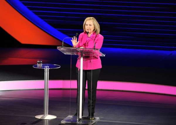 Secretary of State Hillary Rodham Clinton speaks at