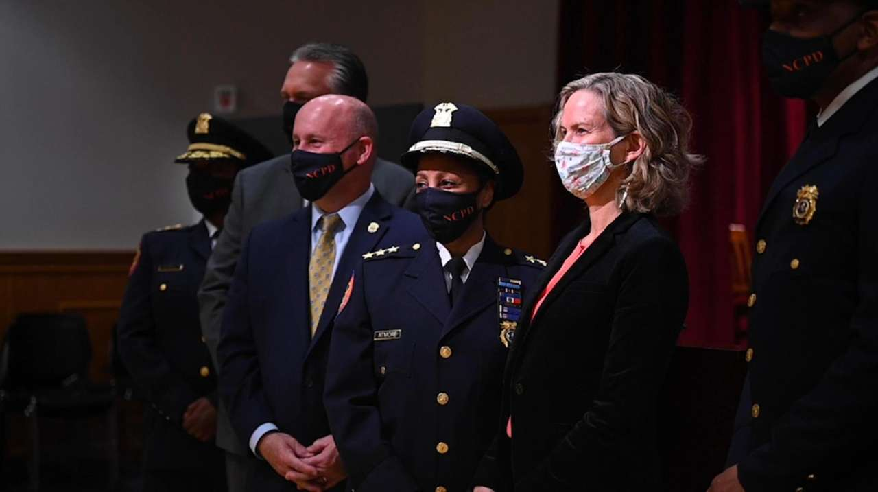 Deputy Chief of Support Lorna Atmore was promoted