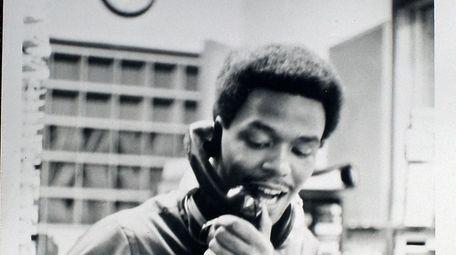 Gary Byrd of WWRL in the early