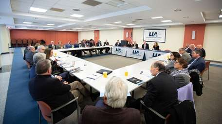 A Long Island Association meeting in Melville back