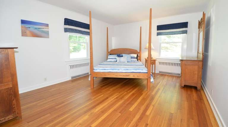 This two-bedroom, one-bath, 1,499-square-foot ranch in Southold, close to South Harbor Beach/Emerson Park.  Credit: North Fork Real Estate