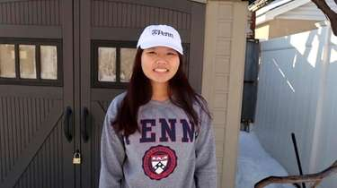 Wenny Cheng, a senior at Mineola High School,