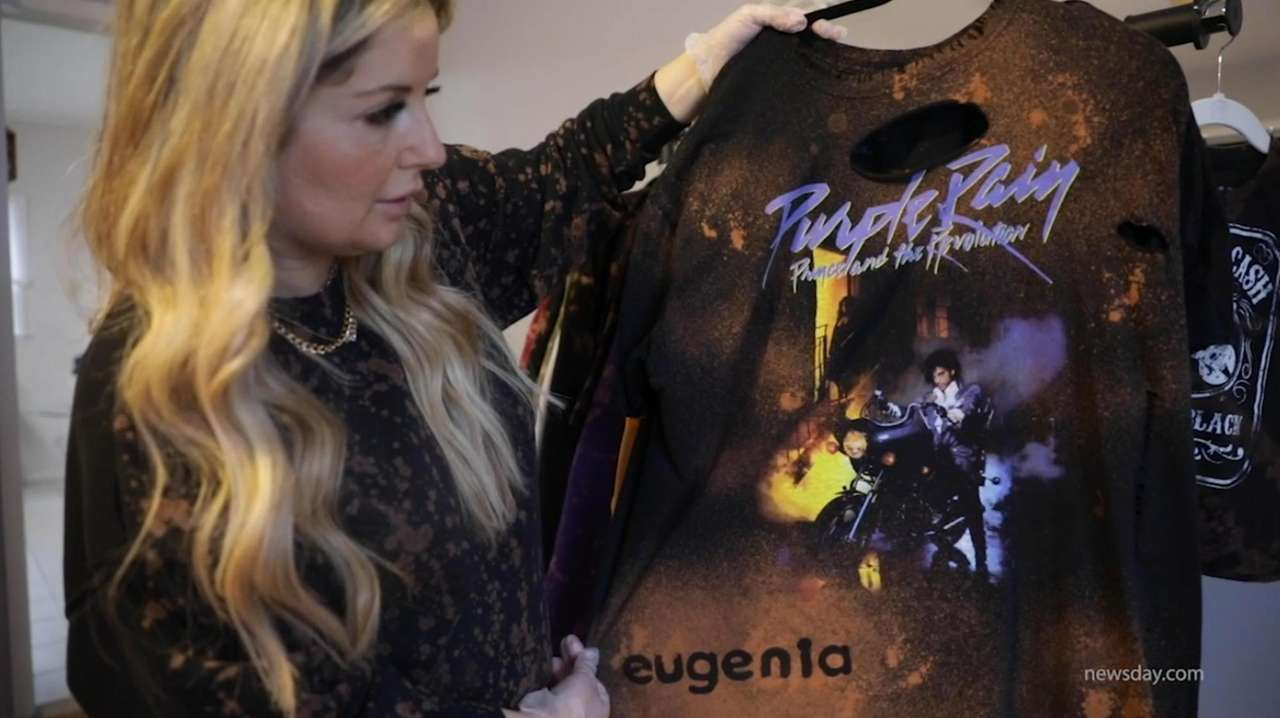 Eugenia Fundo, of Cedahurst, created a successful T-shirt