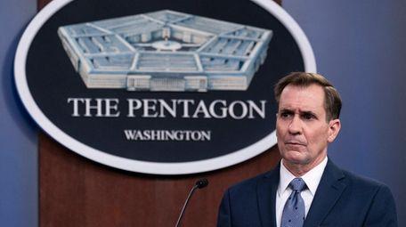 Pentagon spokesman John Kirby said the airstrikes Biden
