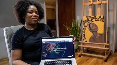 Alicia A. Ray, owner of website Black-Owned Long