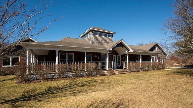 The summer rental home on Gilbert Road in Montauk Credit: Gordon M. Grant