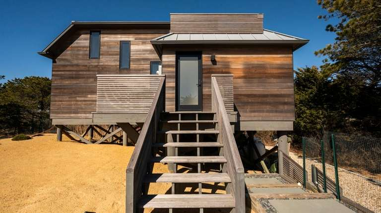 The summer rental home at on Montauk Highway in Amagansett Credit: Gordon M. Grant