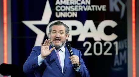 Sen. Ted Cruz at the Conservative Political Action