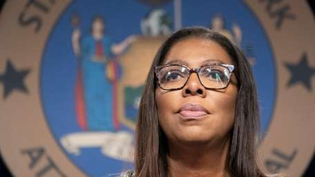 New York State Attorney General Letitia James in