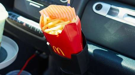 The iSaddle French fry Holder.
