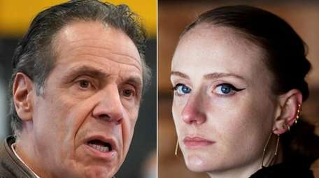 New York Gov. Andrew M. Cuomo and his