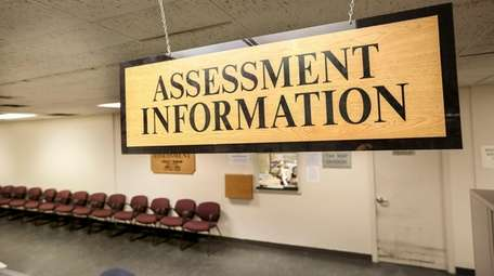 The Nassau County Department of Assessment office in
